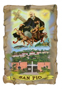 Fronte figurina San Pio2