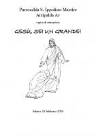 2015-02-28-Gesù, sei un grande